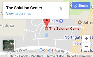 Solution Center map